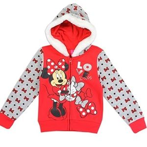 Disney Minnie Mouse Red Hoodie. 2-4T. So Cute. NWT